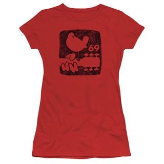 Woodstock/Summer 69 Junior Sheer in Red