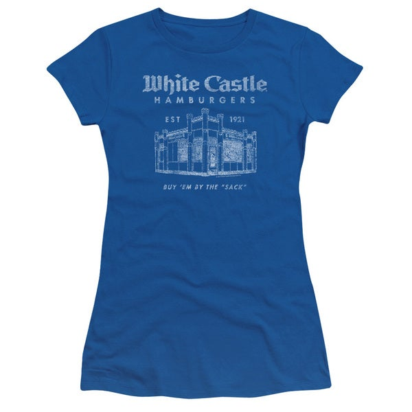 White Castle/By The Sack Junior Sheer in Royal Blue