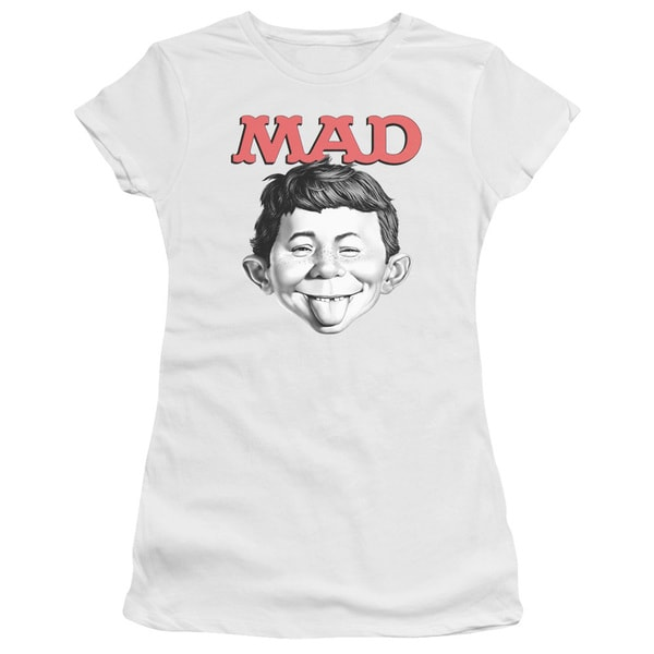 Mad/U Mad Junior Sheer in White
