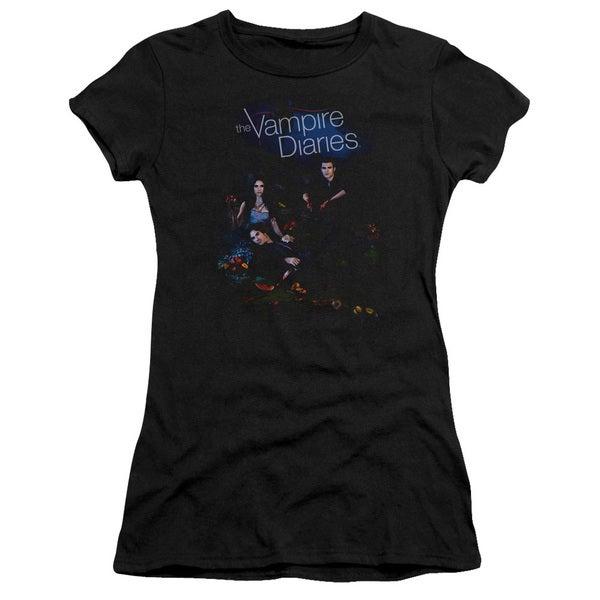 Vampire Diaries/Tempted Junior Sheer in Black