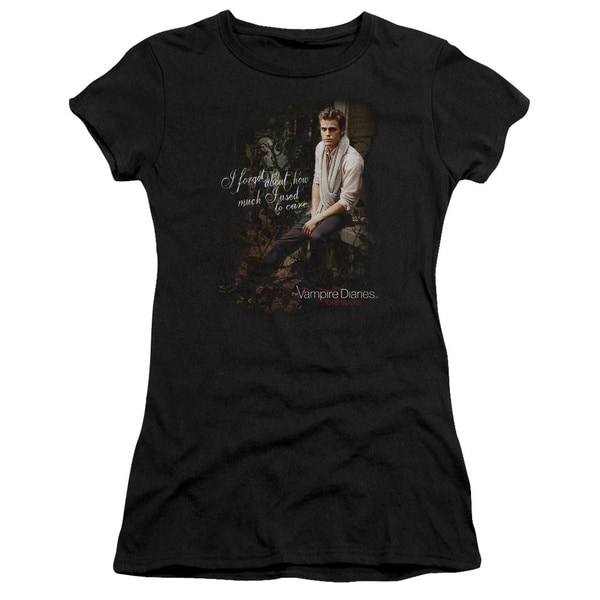 Vampire Diaries/I Used To Care Junior Sheer in Black