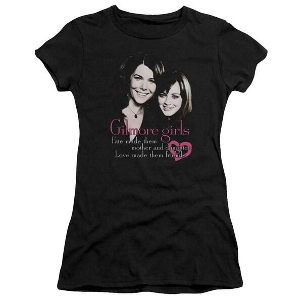 Gilmore Girls/Title Junior Sheer in Black