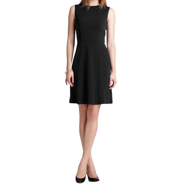 Elie Tahari Callie Black Dress
