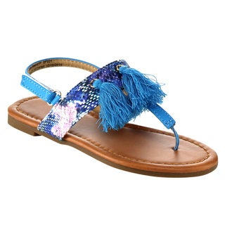 JELLY BEANS Girl's Thong Flat Sandals