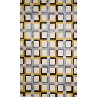Christopher Knight Home Vita Daisy Multi Checked Rug (5' x 8')