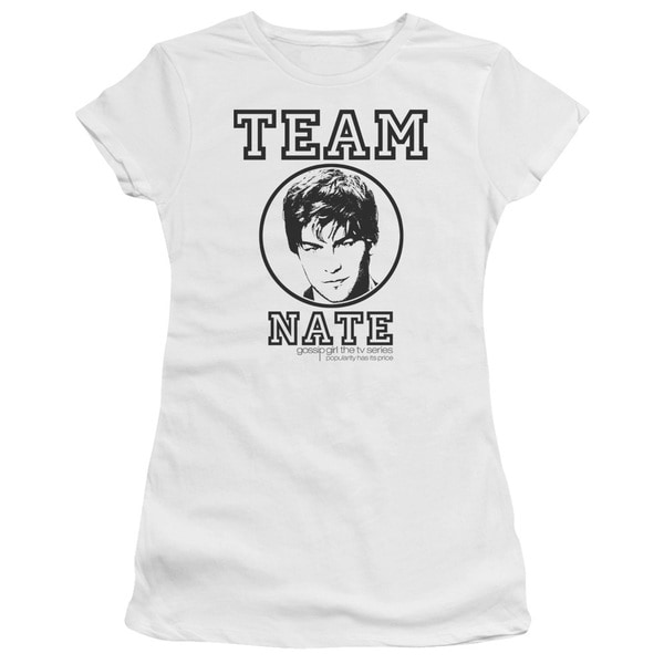 Gossip Girl/Team Nate Junior Sheer in White