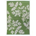 Woven Premiere Home Green Outdoor Rug (4' x 6')