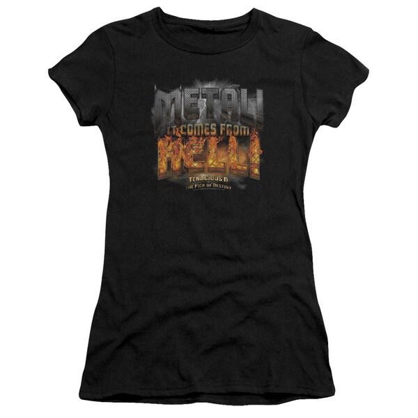 Tenacious D/Metal Junior Sheer in Black