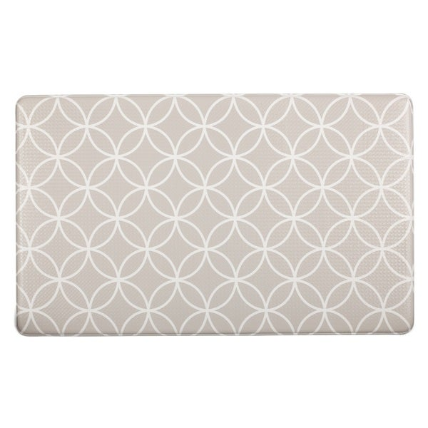 Home Fashion Designs Bennett Collection Printed Anti-Fatigue Comfort Mat