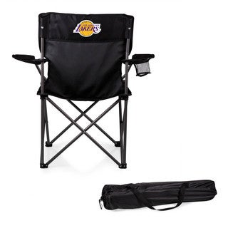 Picnic Time Los Angeles Lakers PTZ Black Polyester/Metal Camp Chair