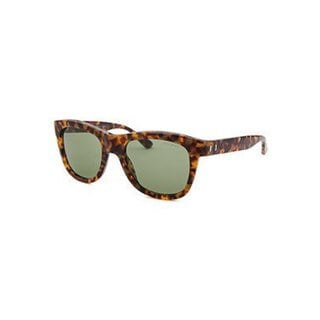 Yves Saint Laurent Square Havana Tortoise-shell Sunglasses