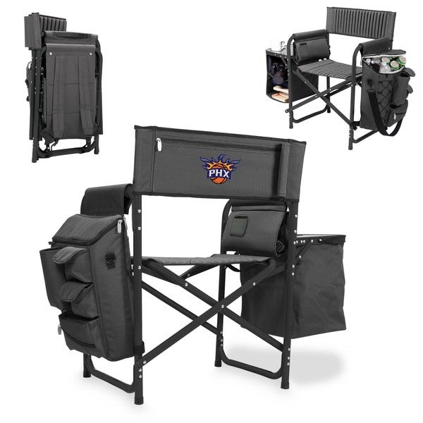 Picnic Time Phoenix Suns Black and Grey Fusion Chair 18851056