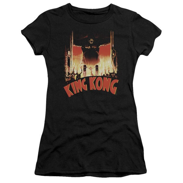 King Kong/At The Gates Junior Sheer in Black