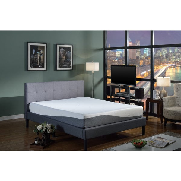 Swiss Ortho Sleep 10-inch King-size Gel Memory Foam Mattress
