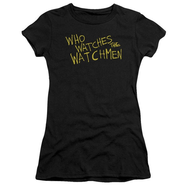 Watchmen/Who Watches Junior Sheer in Black