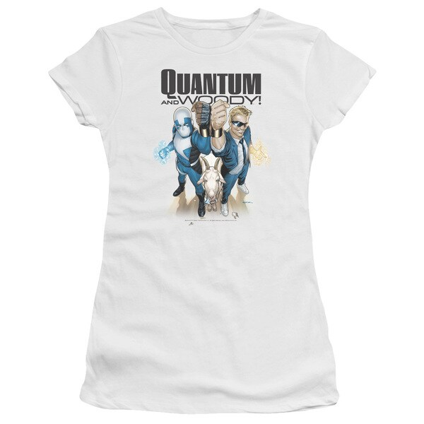 Quantum and Woody/Quantum and Woody Junior Sheer in White