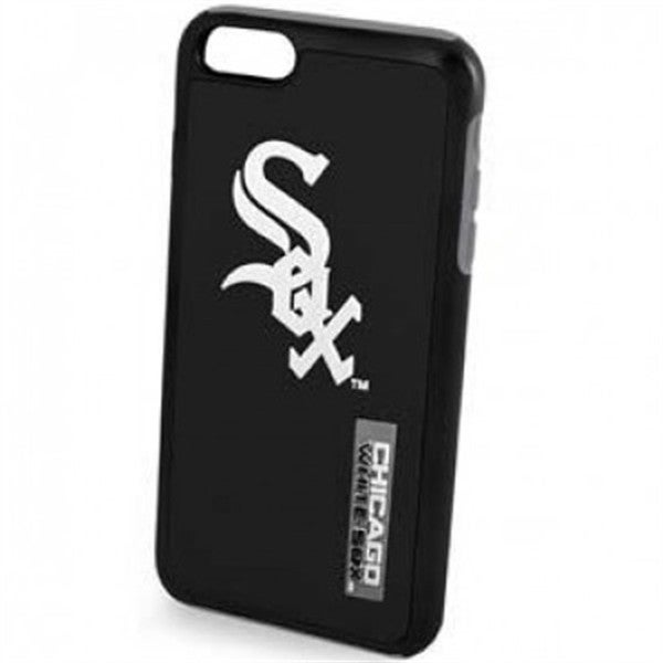 Forever Collectibles Chicago White Sox Black MLB Licensed Dual Hybrid Case for Apple iPhone 6/6S