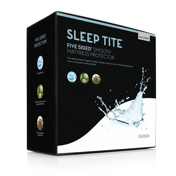 Sleep Tite 5-sided Lightweight Fitted Mattress Protector