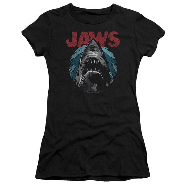 Jaws/Water Circle Junior Sheer in Black