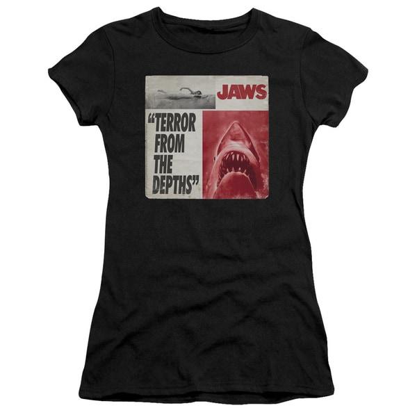 Jaws/Terror Junior Sheer in Black