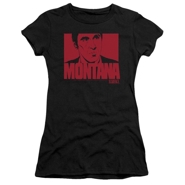 Scarface/Montana Face Junior Sheer in Black