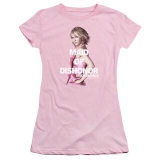 Bridesmaids/Maid Of Dishonor Junior Sheer in Pink