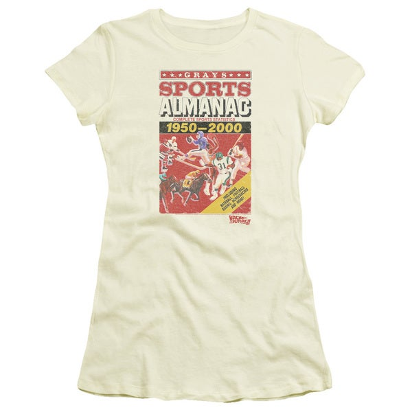 Back To The Future Ii/Sports Almanac Junior Sheer in Cream