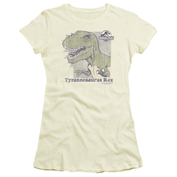 Jurassic Park/Retro Rex Junior Sheer in Cream