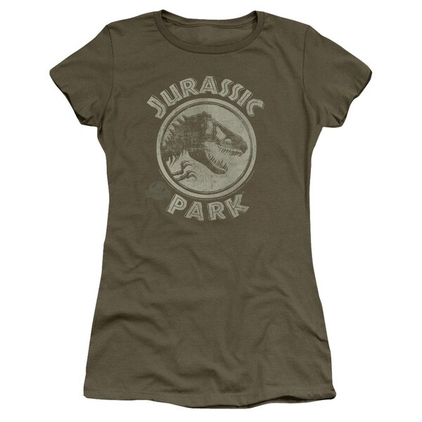 Jurassic Park/Jp Stamp Junior Sheer in Military Green