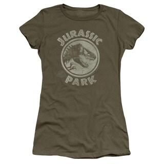 Jurassic Park/Jp Stamp Junior Sheer in Military Green