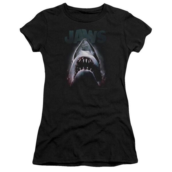Jaws/Terror in The Deep Junior Sheer in Black