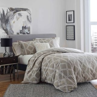 City Scene Mason Cotton Duvet Cover Set