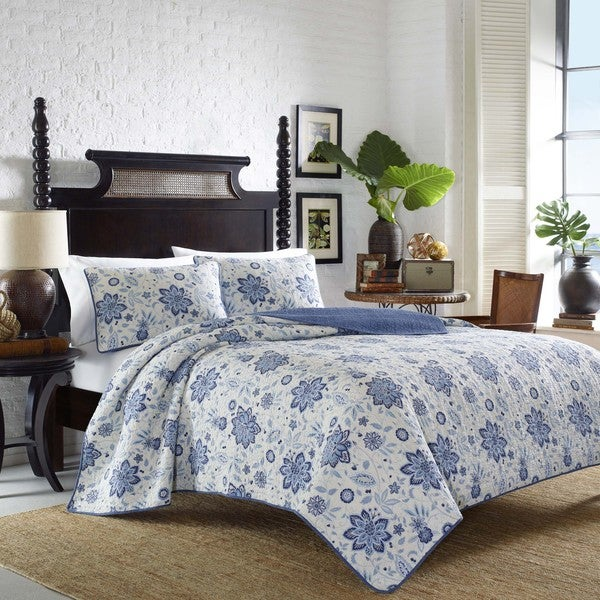 Tommy Bahama Songbird Haven Cotton Quilt Set