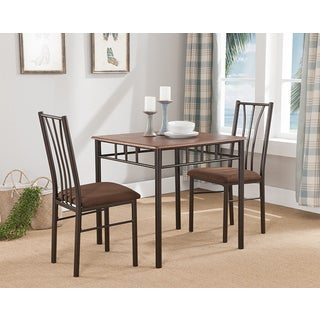 K&B D661 Wood Side Chairs (Set of 2)