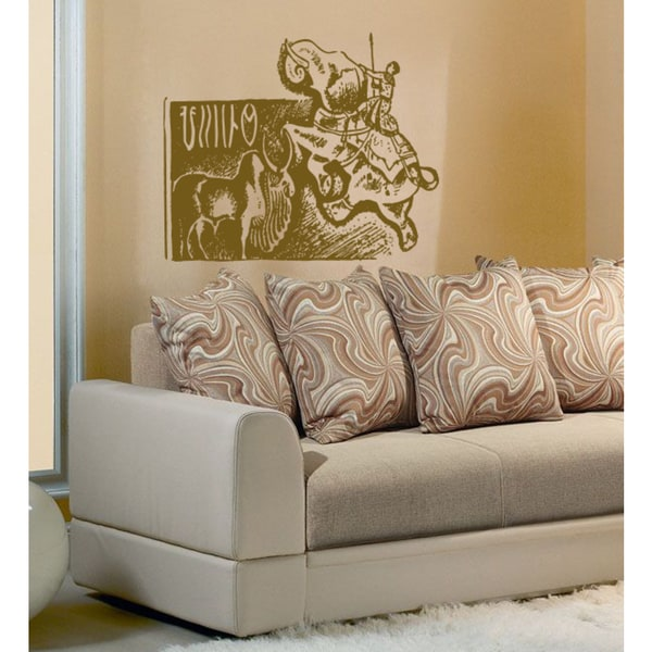 Mammoth mythical legend Wall Art Sticker Decal Brown