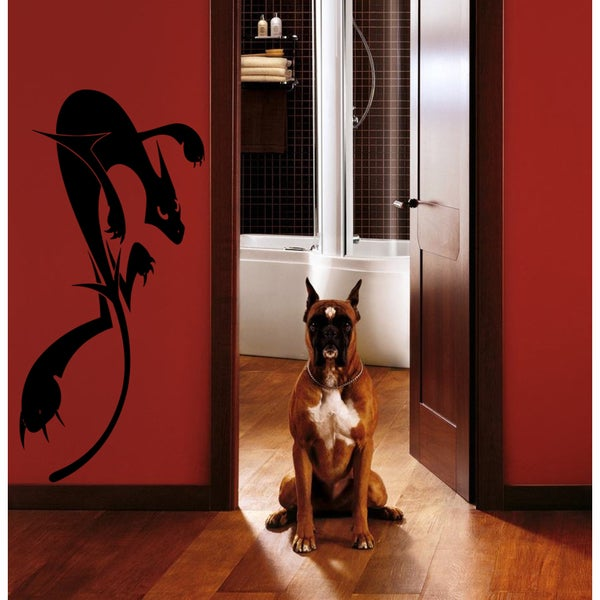Cat ready to attack Wall Art Sticker Decal