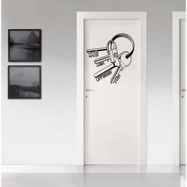 Bunch of keys Wall Art Sticker Decal