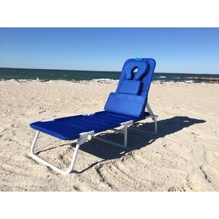 Ergolounger Cloud RS Blue Aluminum/Polyester Chaise Lounge