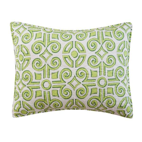 Boxwood Abbey Cotton Standard-size Pillow Sham