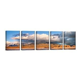 Ready2HangArt 'Cattle Sunset' by Bartlett Hayes
