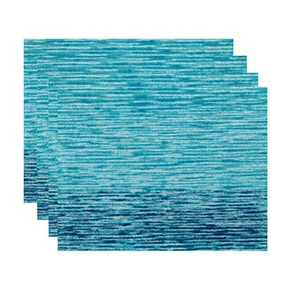 18 x 14-inch Ocean View Geometric Print Placemat (Set of 4)