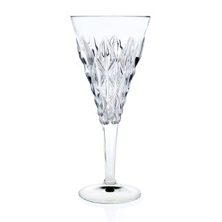 Enigma Collection 257590 White Crystal Wine Stems (Pack of 6)
