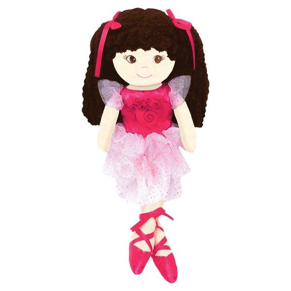 GirlznDollz Jessica Sparkle 14-inch Ballerina Doll