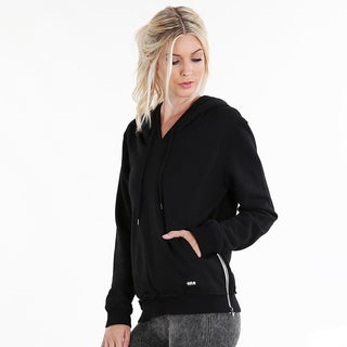 Nikibiki Activewear Women's Side-zip Drawstring Hoodie