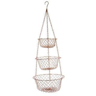 Fox Run Copper Hanging Baskets