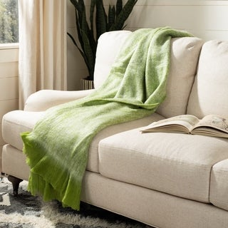 Safavieh Faux Sheepskin Taupe Throw (50-Inches x 60-Inches)
