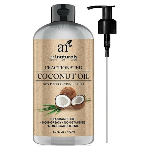 Art Naturals 16-ounce Fractionated Coconut Oil