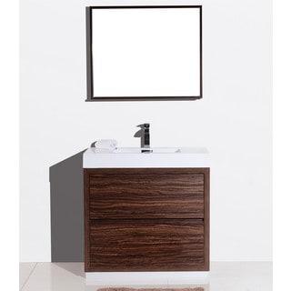 KubeBath Bliss 36-inch Single-sink Bathroom Vanity