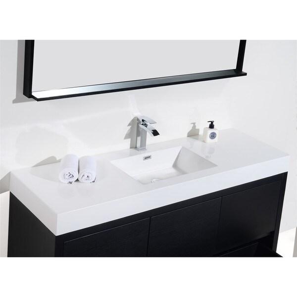 60 inch single sink