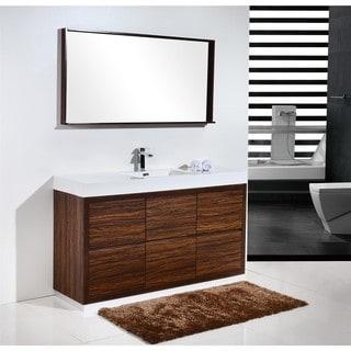 KubeBath Bliss 59-inch Single Sink Bathroom Vanity